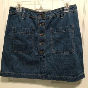 NWOT Denim Skirt